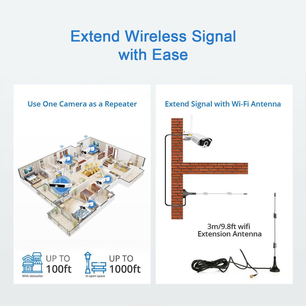 8CH NVR Wireless CCTV System Recorder 1T 2T 3MP IR-CUT Outdoor IP Camera Set Security System Audio Video Surveillance Kit H.265