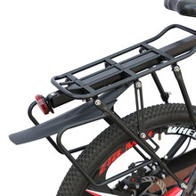 Bearing the weight 50 kg Cycling MTB Aluminum Alloy Bicycle Carrier Rear Luggage Rack Shelf Bracket for Disc Brake/V-brake Bike cargo printed for steel disc perfectequipment 8150 0501 501 weight 50 c 50 pcs