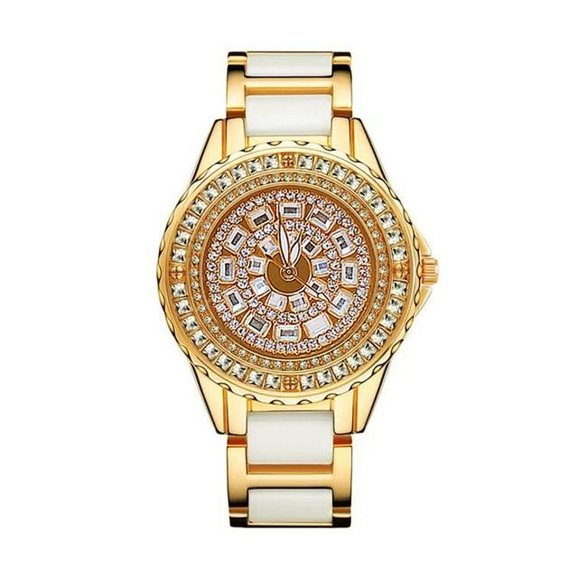 Bayan saat bracelet pour femmes, marque de luxe, montre à Quartz décontractée