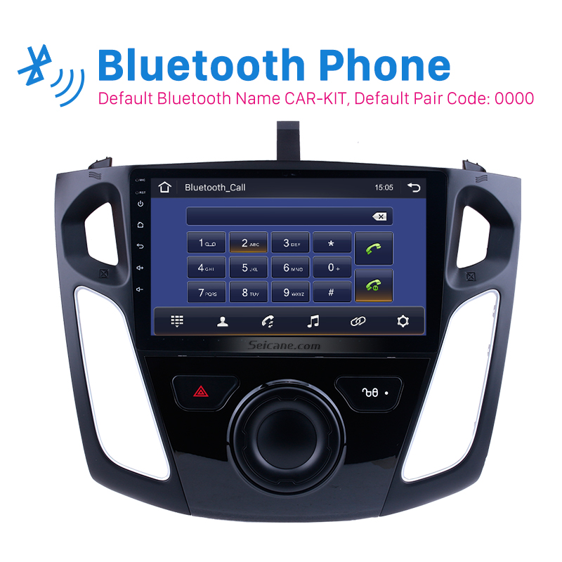Top Seicane Android 9.0 9 Inch Car Stereo For 2011 2012
