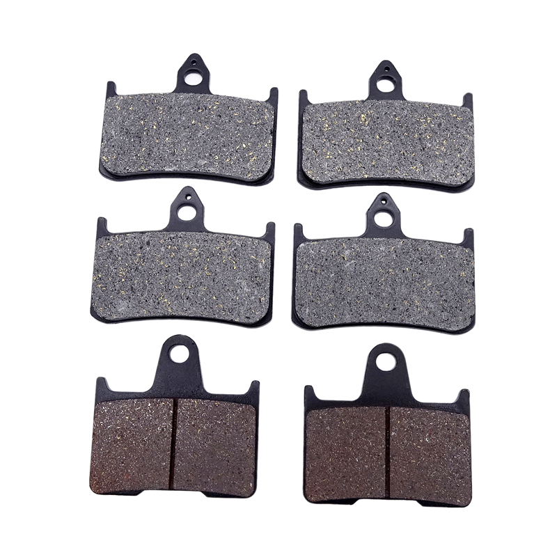 Motorcycle Replacement Brake Pads Front And Rear Disks Kit For Honda X4 CB1300D ( SC38 ) CB 1300 1997-2000 Motorbike Parts(China)