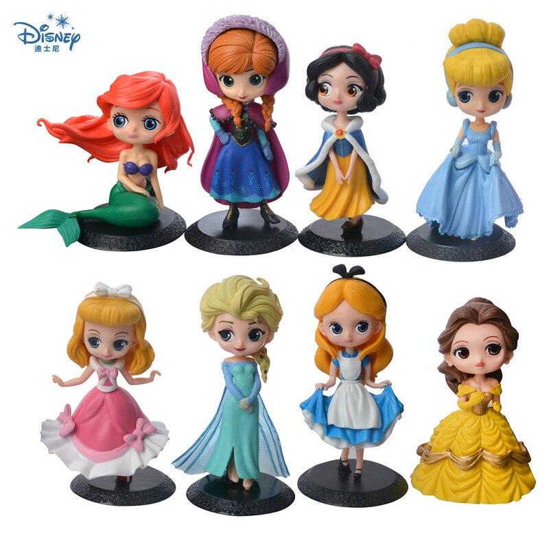 Украшение для торта Disney, свадебное платье, Золушка, принцесса, Русалка, украшение для торта, автомобиль, ручная работа, игрушка в подарок