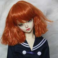 1/3 1/4 1/6 1/8 Bjd peluca SD pelo ondulado alta temperatura moda alambre BJD peluca para BJD muñeca peluca