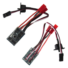 Rc ESC 10a Brushed Motor Speed Controller for 1/16 18 Rc Car Boat Tank