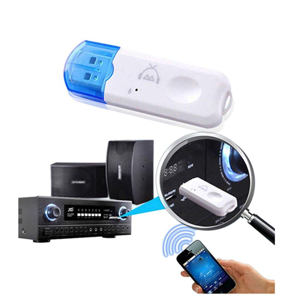 USB Bluetooth 2,1 приемник аудио-стерео адаптер беспроводной громкой связи комплект электронных ключей для динамика автомобиля mp3-плеер смартфоно...