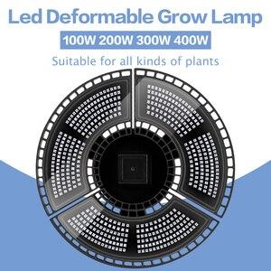 Image 5 - Крытый E27 Led 400 Вт светильник для выращивания панельный полный спектр фитолампа для цветов E26 лампа для растений теплые белые светодиоды фитоламповая палатка