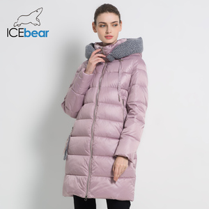 Image 3 - 【Flash Deals】icebear 2019 Nieuwe Vrouwen Winterjas Jas Slanke Winter Gewatteerde Jas GWD19600I