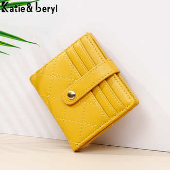 Hot Brand Designer Women Wallets Ladies Slim Mini Purses Card Holder Zipper Coin Pocket Female Wallet Small Carteras NEW