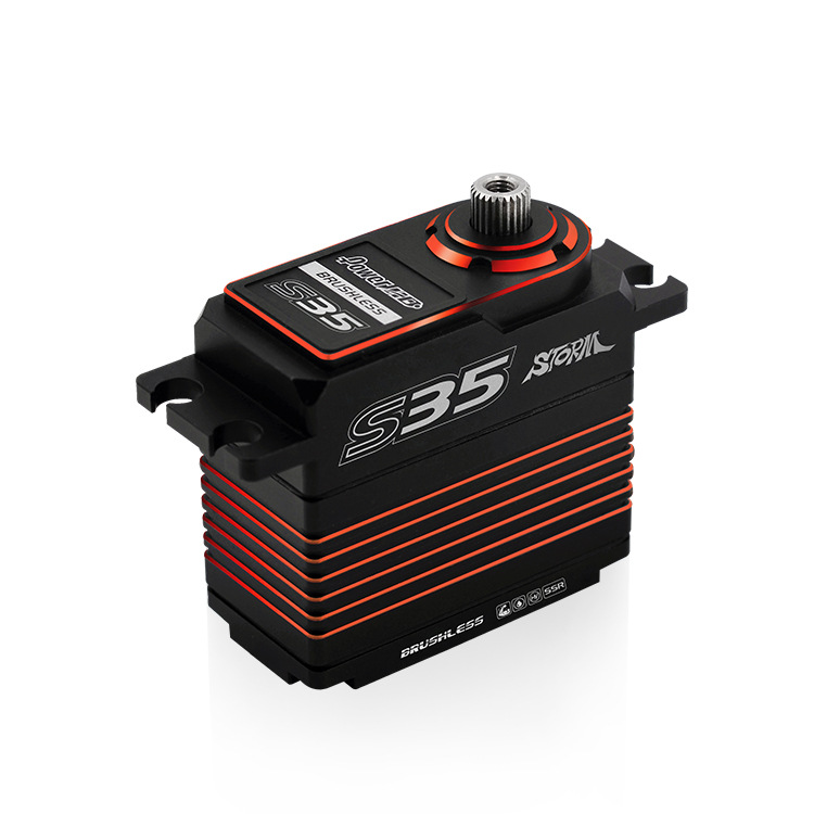 Power HD Storm35 High Pressure Brushless Servo 35KG Metal Gears for RC Vehicles Car Model