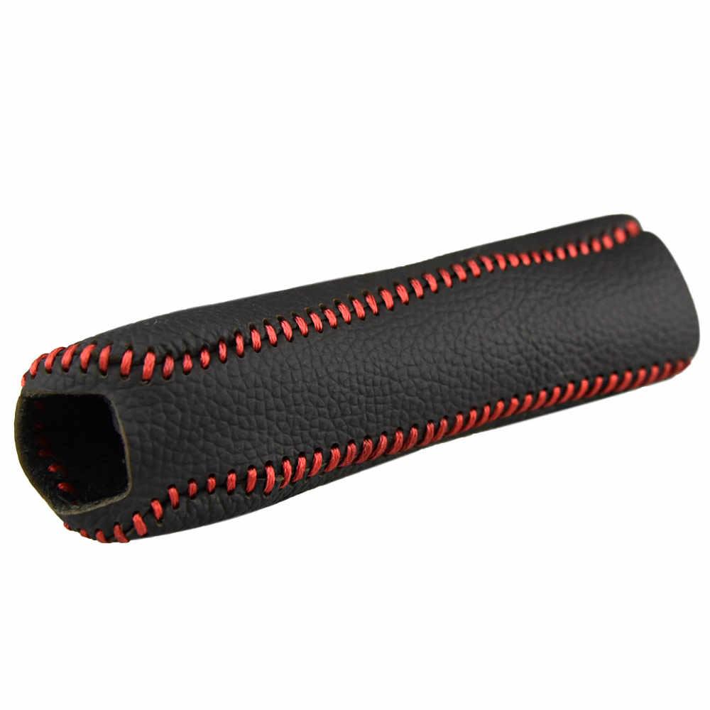 Pelindung Pegangan Selimut Handle Lengan Aksesoris untuk KIA K2 2011 untuk 2016 Rem Tangan Grip Case Aksesoris Mobil