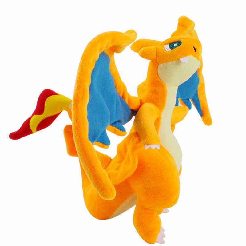 Takara Tomy pokemon 25 см модель charizard плюшевые игрушки мягкие куклы аниме игрушки Fifts для детей