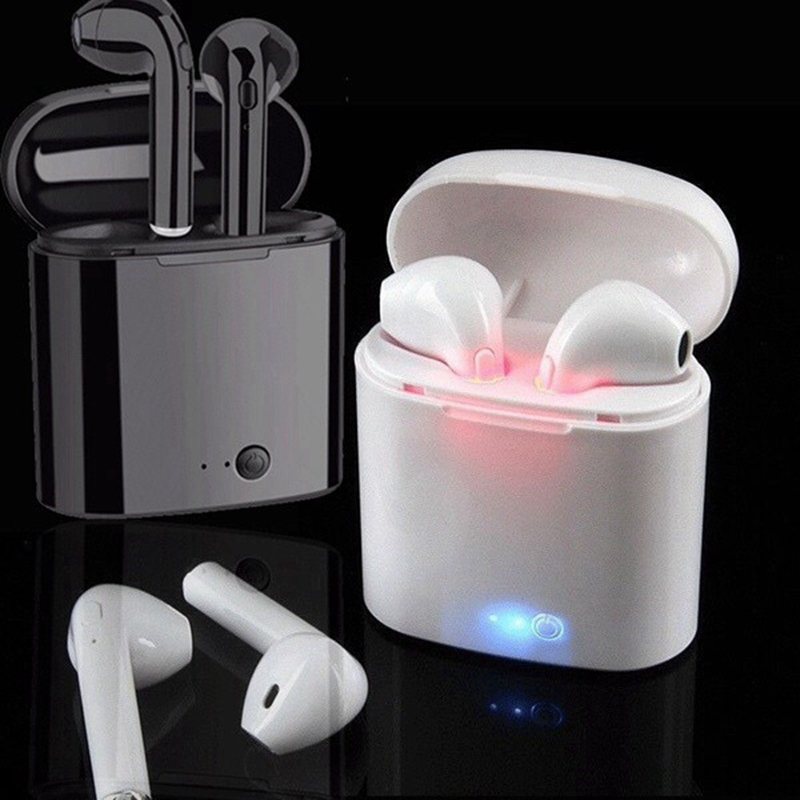 I7 I7s Tws Wireless Bluetooth Earphones Earbuds Handsfree In Ear Earphone With Charging Box For IPhone Huawei Xiaomi Hot Sell