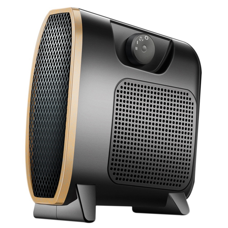 220V 1500W Portable Office Heater Mini Electric Home Fan Handy Air Warmer Silent