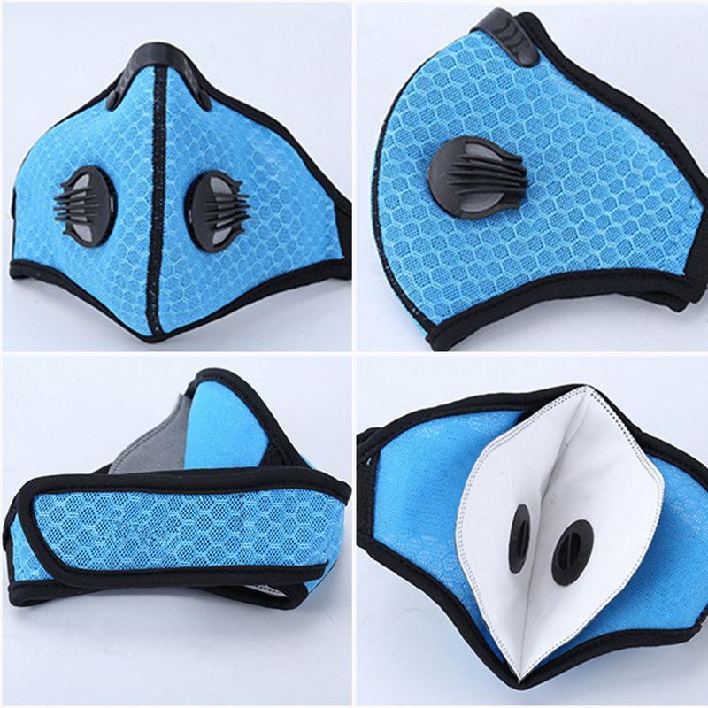 Filter Activated Carbon  2.5 Anti-Pollution Running With Cycling Mask KN95 Antiviral Coronavirus Sport Face Mask 25