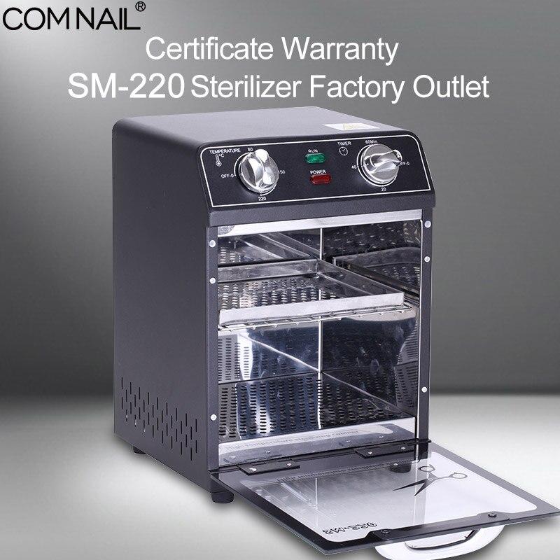 Стерилизатор, маникюрный аппарат, сертификат гарантии, Заводская розетка, SM 220, высокотемпературный стерилизатор, сухой тепловой станок для