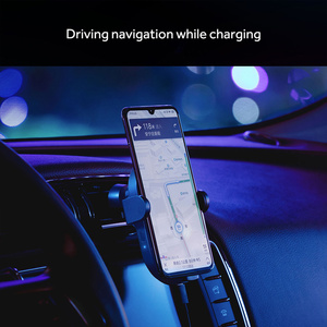 Image 5 - Xiaomi Wireless Car Charger 20W Max Electric Auto Pinch Qi Quick Charging Mi Wireless Car Charger for Mi 9 iphone X XS Original