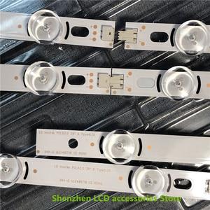 Image 2 - 16 יח\חבילה 100% חדש מלא תאורה אחורית Ar ray LED רצועות ברים עבור LG 39LN540V 39LN570V 39LA620V HC390DUN POLA2.0 39 A B