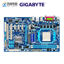 Gigabyte GA 770T D3L שולחן העבודה האם 770T D3L 770 AM3 עבור AMD Phenom II/Athlon II DDR3 8G SATA2 ATX מקורי משמש Mainboard