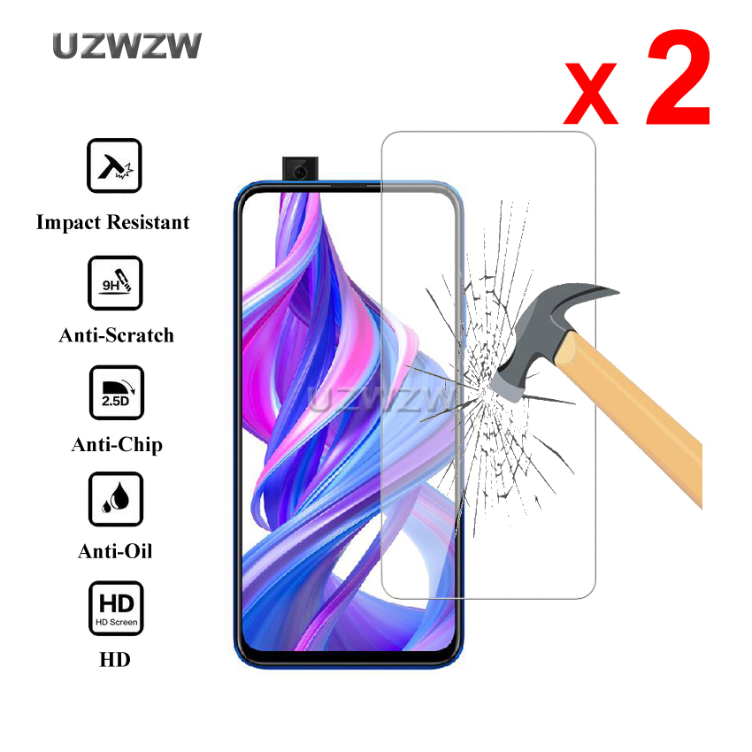 2pcs For Huawei Honor 9X / Honor 9X Pro Premium Tempered Glass Screen Protector For Huawei Honor 9X Pro Protective Glass Film