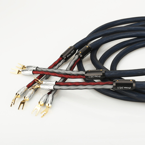 Image 3 - Paar Viborg Prime Sp/1 Speaker Kabel Met VS701G Zuiver Koper Vergulde Spade