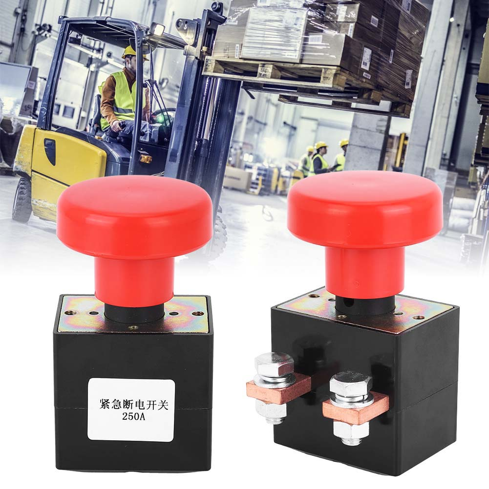 220V 250A Electric Forklift Switch Parts DC Powers Supplys Emergency Stop Reversing Switches Suitable For All Electric Trucks