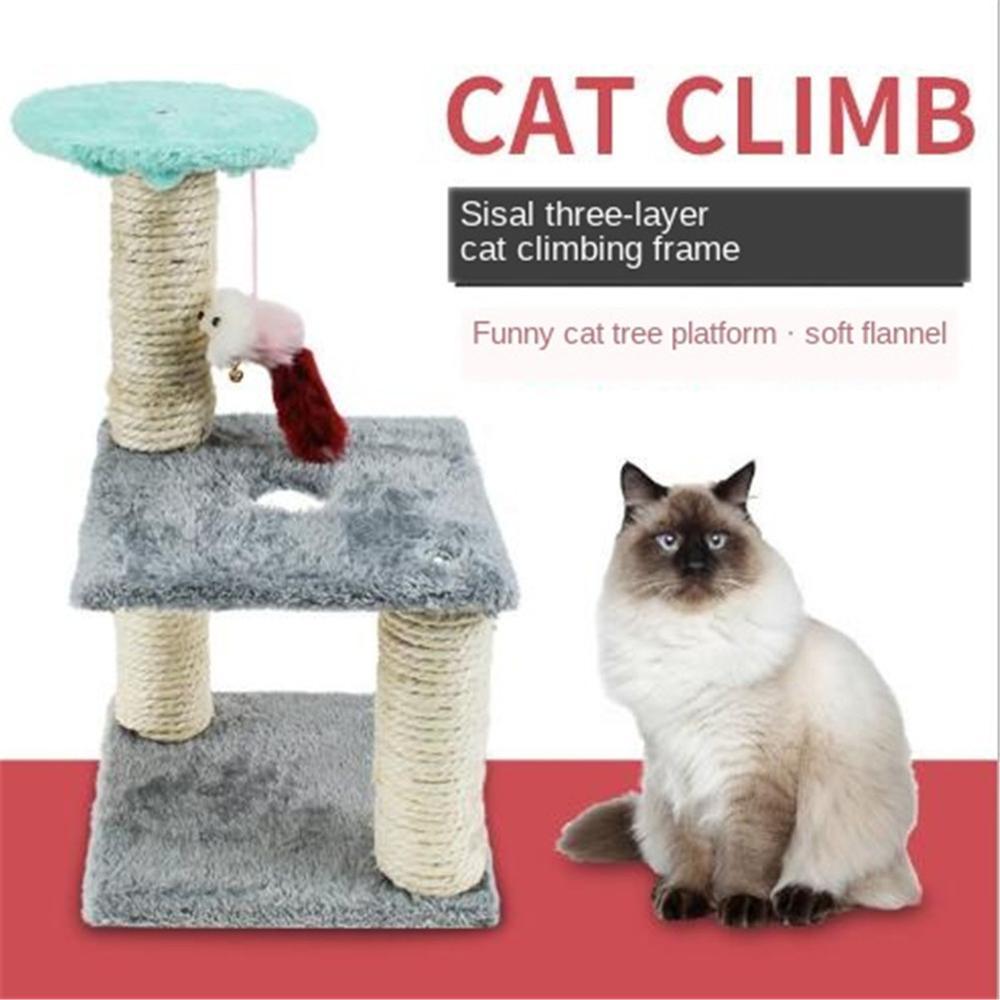 <font><b>Cat's</b></font> <font><b>Tree</b></font> <font><b>Tower</b></font> <font><b>Pets</b></font> Play <font><b>Tree</b></font> Scratching Arbre A Chat Climbing Jumping Toy Frame <font><b>Pets</b></font> Rascador Gato <font><b>Cat</b></font> House Scratching-stone image
