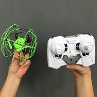 Mini Dron teledirigido con luz LED, Dron cuadricóptero con luz LED, con giro 3D, portátil, modelo profesional, 1336