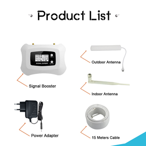 Image 5 - Band 5 Signal Repeater GSM 850 Mobile Phone Signal Booster 3G CDMA 850MHz Cell Phone Signal Amplifier LCD Display 70dB Gain Kit