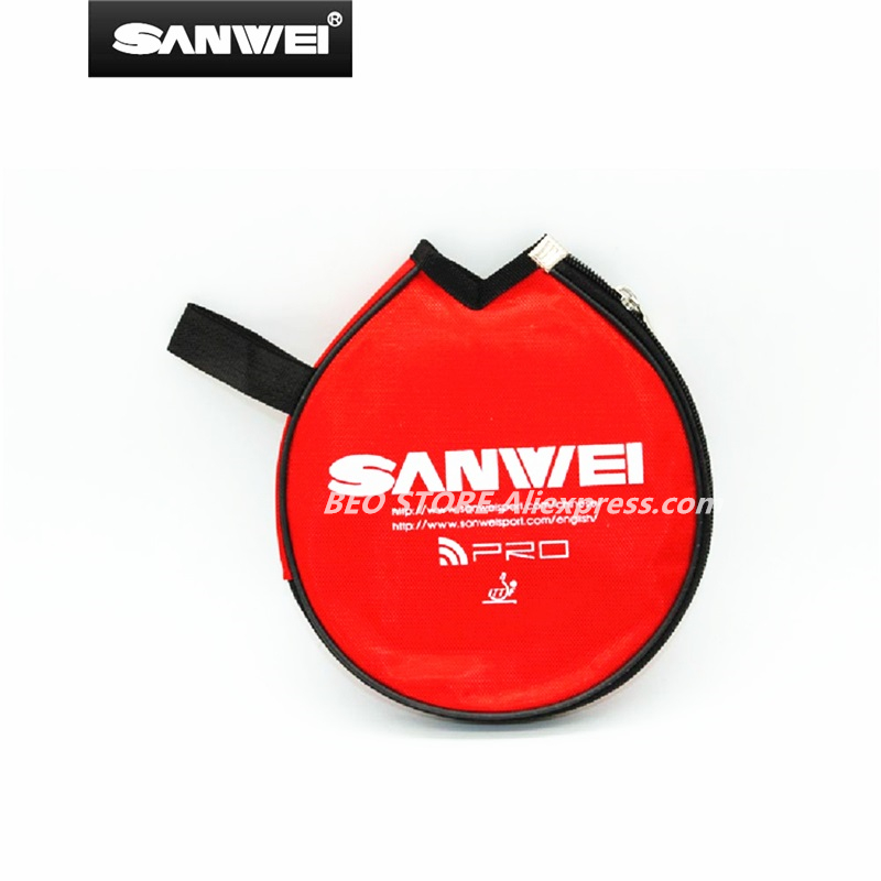 SANWEI Table Tennis Case Cover Ping Pong Bag Racquet Tenis De Mesa
