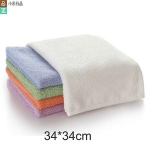 Image 1 - Оригинальное антибактериальное полотенце Youpin ZSH Polygiene Young Series, 100% хлопок, 5 цветов, впитывающее полотенце для лица и рук