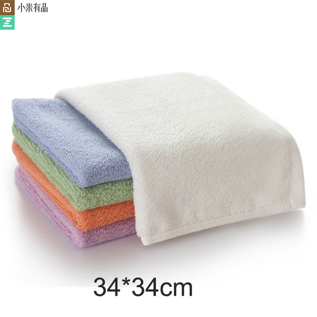 Оригинальное антибактериальное полотенце Youpin ZSH Polygiene Young Series, 100% хлопок, 5 цветов, впитывающее полотенце для лица и рук