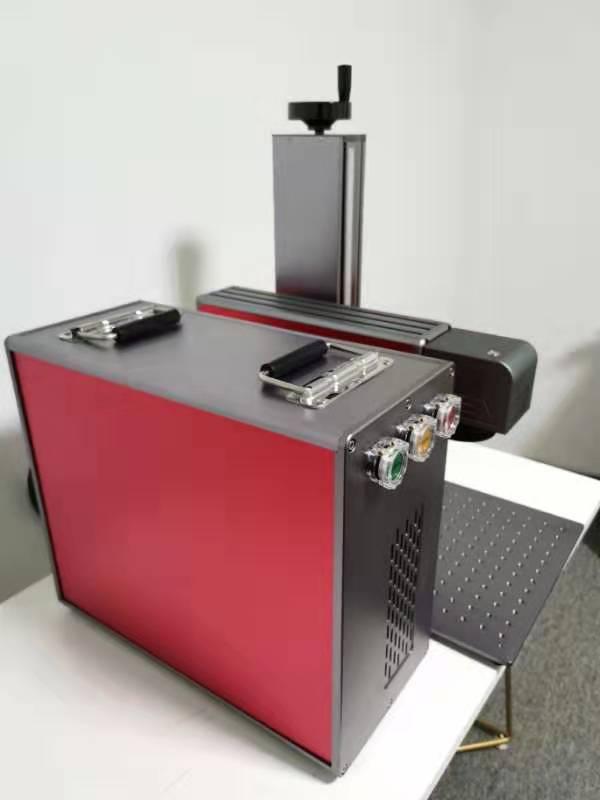 Wtsfwf wysokiej jakości włókna laserowe grawerowanie drukarki maszyny metalowe ze stali nierdzewnej druku racycus źródło laserowe
