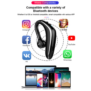 Image 5 - Wireless Headset Bluetooth Earphone Earbuds Auto Pairing Upgrade with IPX5 Waterproof HD Call Business Headphone for Intkoot