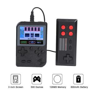 Image 3 - GC26 Portable Video Game Console Retro Handheld Mini Pocket Game Player Built in 500 Classic Games Gift for Child Nostalgic Play
