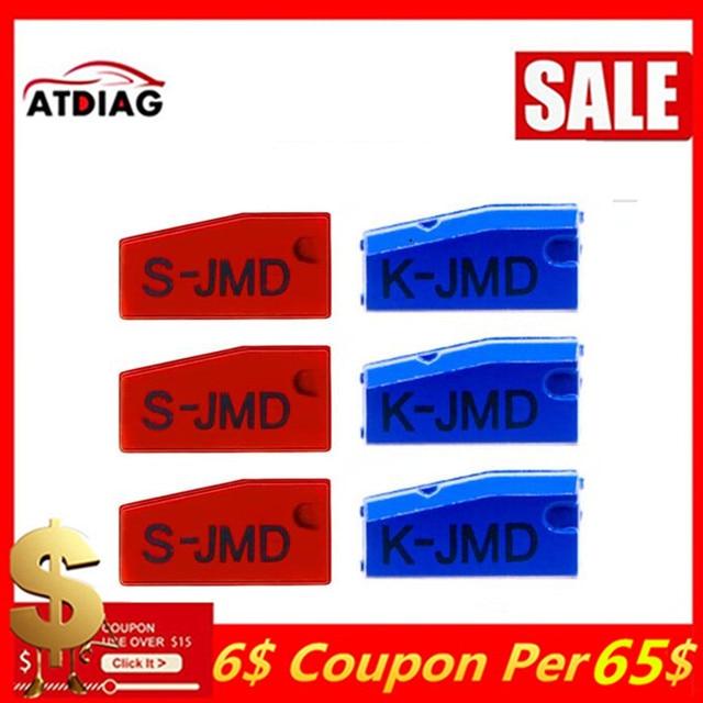 Keydiy 5 10 قطعة الأصلي JMD الأحمر سوبر رقاقة مفتاح السيارة رقاقة الكل في واحد للطفل مفيد استبدال الملك رقاقة 47 48 رقاقة