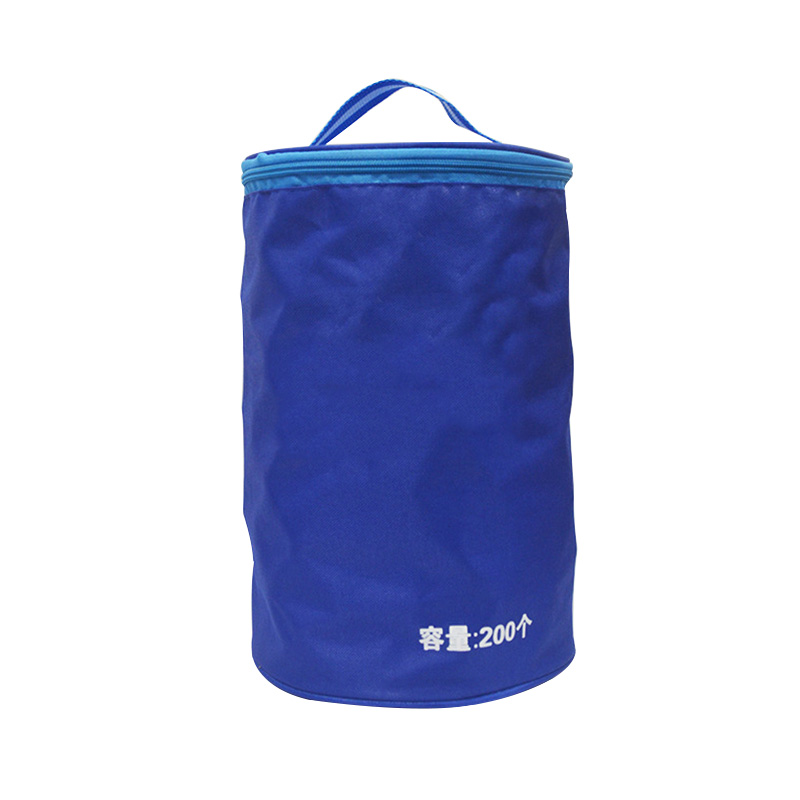 Professional Oxford Table Tennis Bag Portable Pingpong Case Padel Accesorios Large Capacity Can Hold 200pcs Ping Pong Balls
