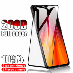 На Алиэкспресс купить стекло для смартфона 200d full cover tempered glass on the for xiaomi redmi 8 7a 8a 9s note 8t 7 8 9 pro max screen protector protective safety film