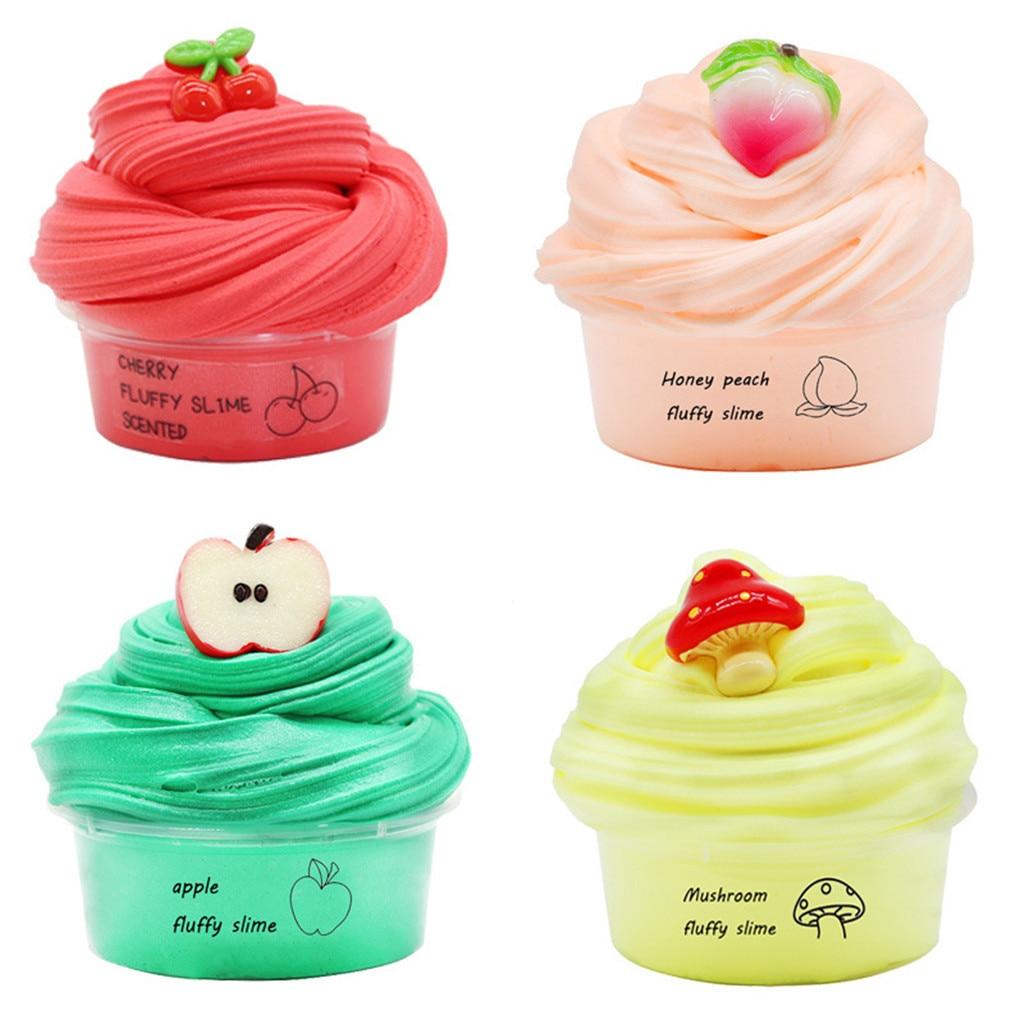 Slime Fuffy Foam Clay Supplies Slime Mud DIY Light Soft Clay Plasticine Playdough Charms Gum Polymer Clay Antistress Kid Toys(China)