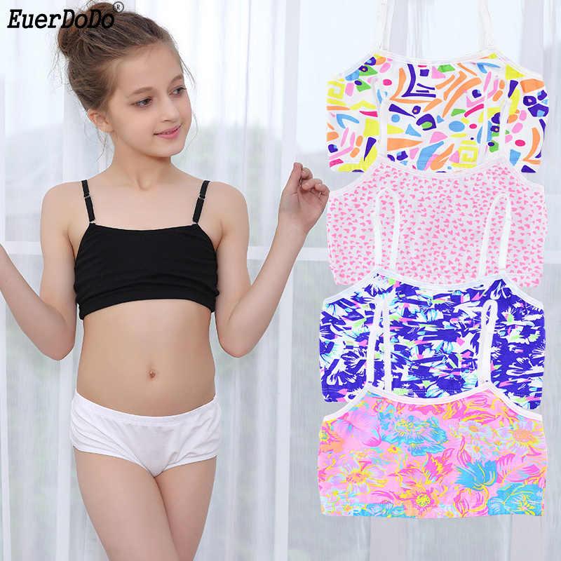 girls summer tank tops teenage girl sport underwear Cotton girls training  bra children's bra Kids Camisole Teenager Singlets|Bras| - AliExpress