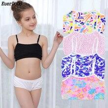 girls summer tank tops teenage girl sport underwear Cotton girls training bra children's bra Kids Camisole Teenager Singlets