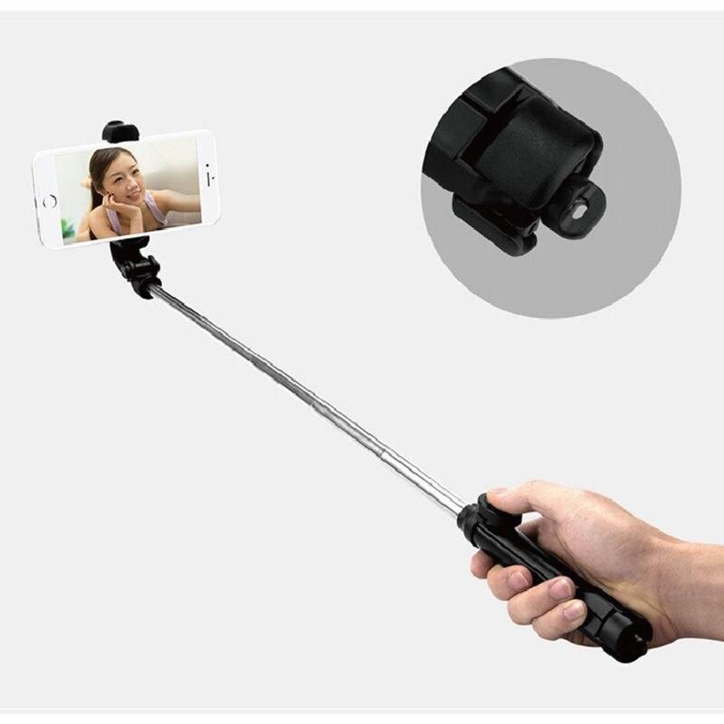 Tripod Golf Swing Holder Recorder Bluetooth Selfie Stick Cell Phone Clip Holder Mini Extendable Multifunction Wireless