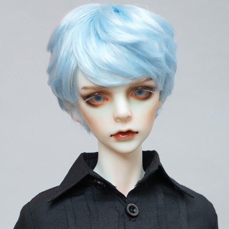 Cataleya Bjd Sd Dd Boy Doll Girl Doll Wig Imitation Mohair Oblique Bangs Short Hair Light Blue Calm Color 1 3 1 4 1 6 Doll Wig Dolls Accessories Aliexpress
