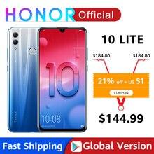 Presell Global Version Honor 10 Lite Smartphone Kirin 710 Octa Core 6.21