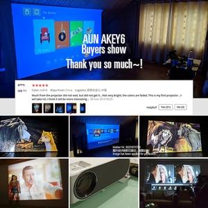 Image 5 - AUN Full HD LED projektör AKEY6