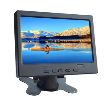 """7"""" portable monitor car with sound 1024x600 input \ VGA \HDMI built-in speaker compatible  Raspberry Pi for  pc"""