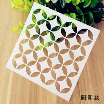 DIY Stencil Reusable Painting Hollow Template Stencils For Painting Wall Scrapbooking Photo Album Embossing Paper Cards Crafts free shipping stencil painting template stamps diy scrapbooking photo album cards decorative embossing cake fondant cupcake tool