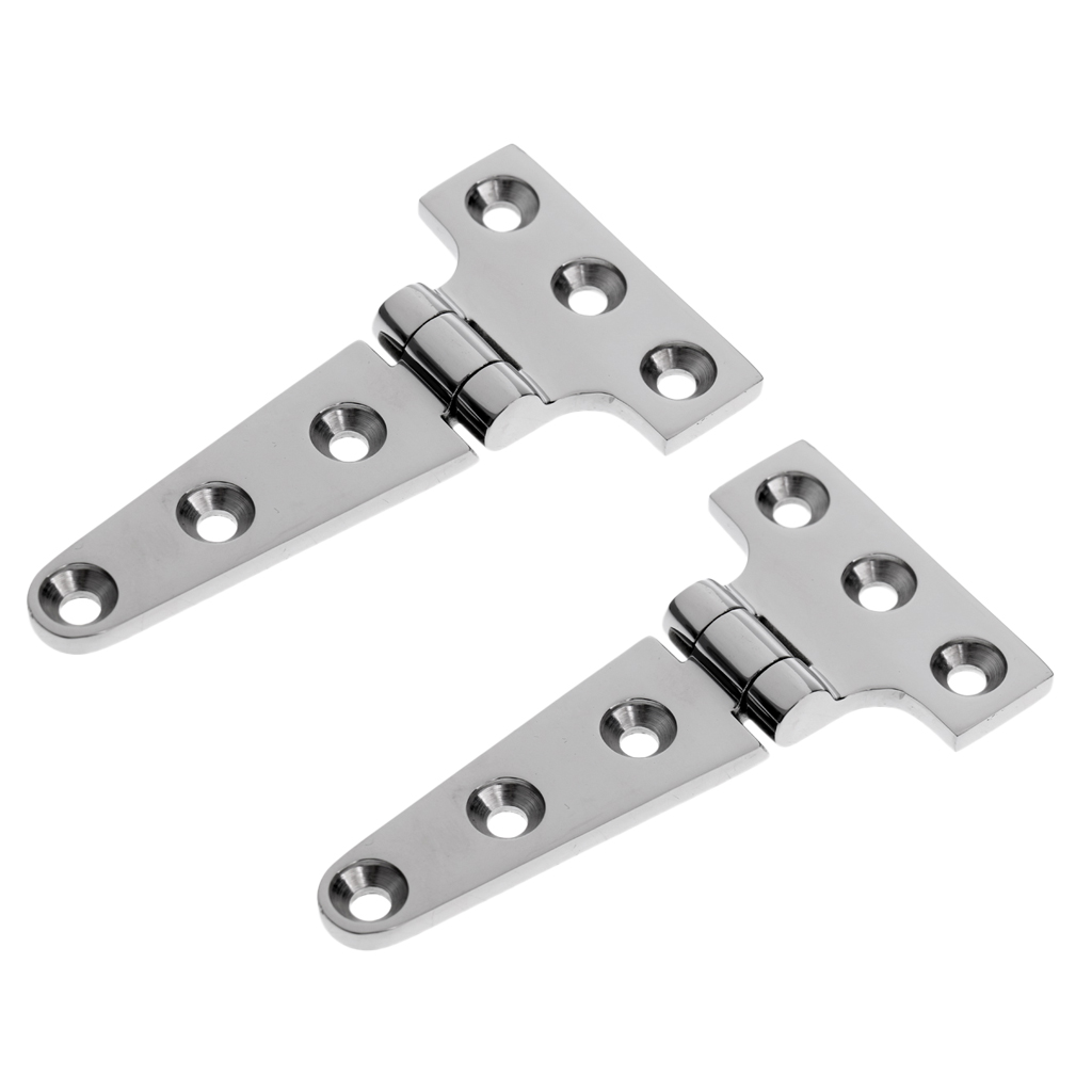 6pcs Heavy Duty T Hinge Strap Hinge for Shed Door Barn Window Playhouse Coop