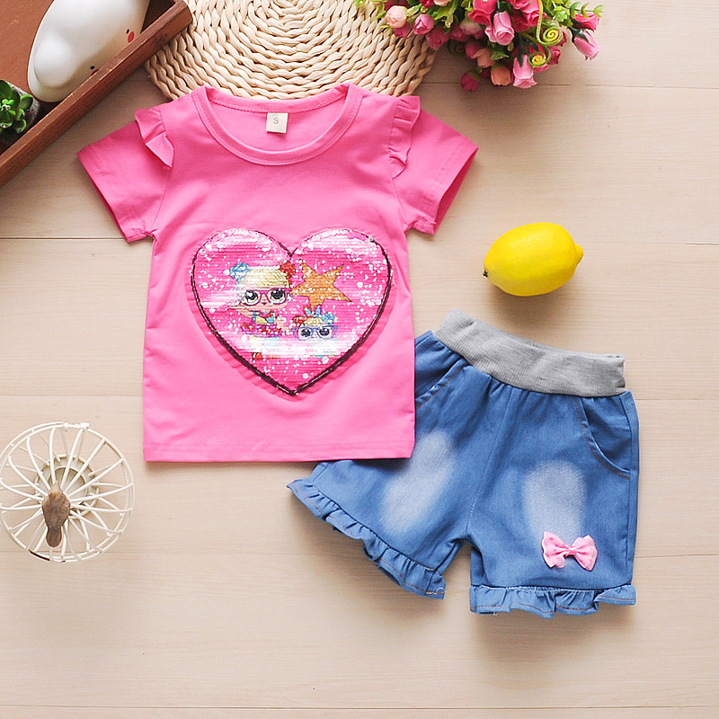 babyhealthy Little Girls Clothing Suit Flower
