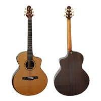 China Artist Master Grade Double Cedar (Spruce )Top Mini Jumbo Acoustic Guitar  Model SG03DCR