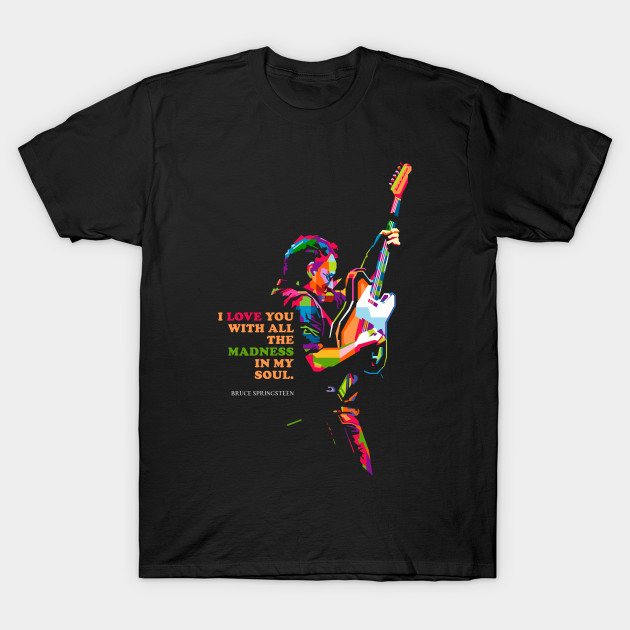 Bruce Springsteen Men's T Shirt
